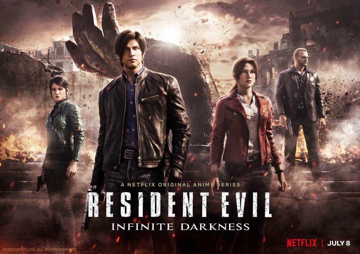 Resident Evil: Infinite Darkness ilk 3 dakikası yayınlandı