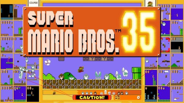 Super Mario Bros. 35, Nintendo Switch için bugün çıkıyor