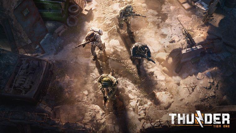 PUBG ekibinin yeni oyunu Thunder Tier One için özel oynanış etkinliği geliyor