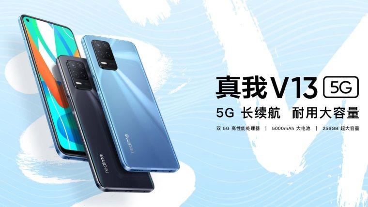 Bütçe dostu Realme V13 5G piyasaya çıktı