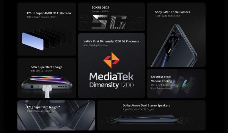 Realme X7 Max 5G announced