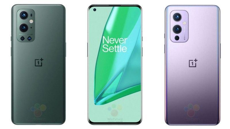 Images of OnePlus 9 series leaked