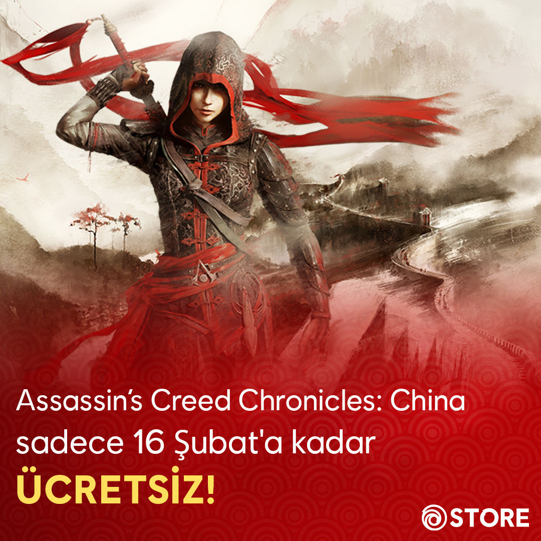 Assassin's Creed Chronicles: China, Ubisoft Store'da ücretsiz
