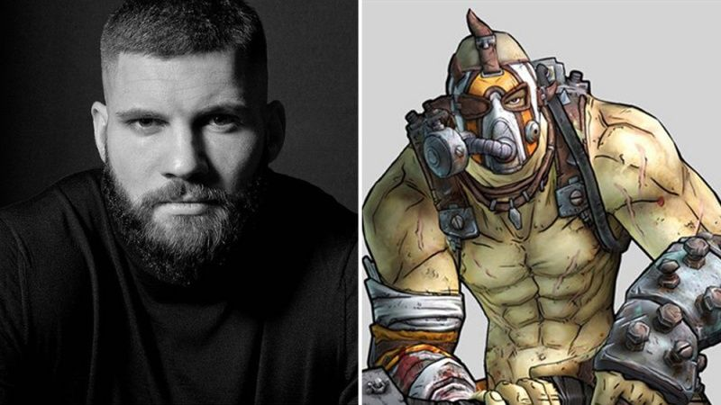 Florian Munteanu as Krieg in Borderlands squad