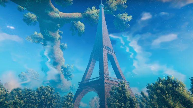 Valheim'de 40,000 blok ile Eyfel kulesini inşa ettiler