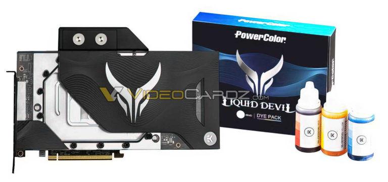 PowerColor RX 6900 XT Liquid Devil graphics card revealed