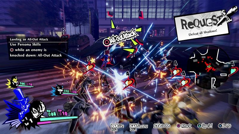 Persona 5: Strikers inceleme