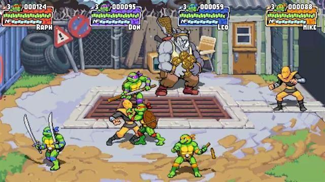 Teenage Mutant Ninja Turtles: Shredder's Revenge oynanış videosu yayınlandı