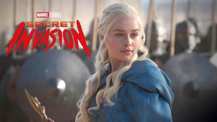 Emilia Clarke, Secret Invasion dizisinin kadrosuna katılıyor