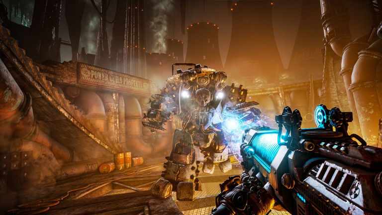 Necromunda: Hired Gun, an FPS in the Warhammer 40K universe