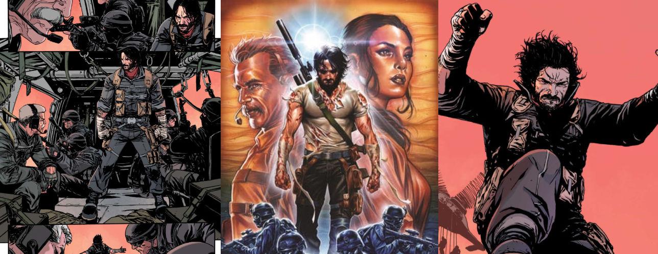 Keanu Reeves çizgi roman uyarlaması Brzrkr projesinde yer alacak