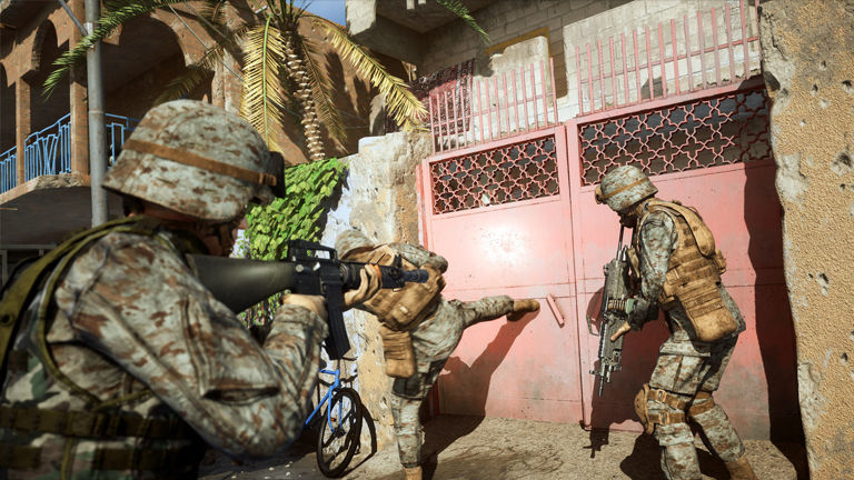 Six Days in Fallujah was developed in Sony Santa Monica sometime