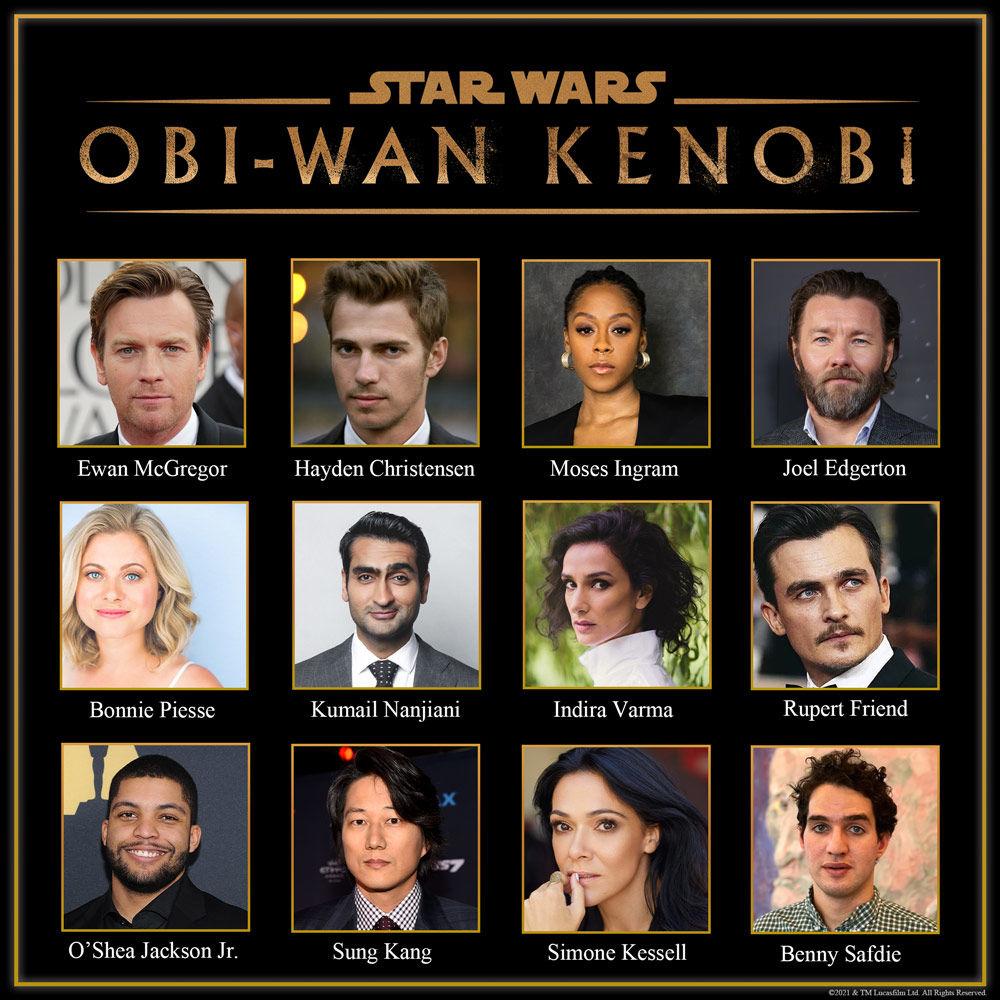 Obi-Wan Kenobi cast can raise your expectations