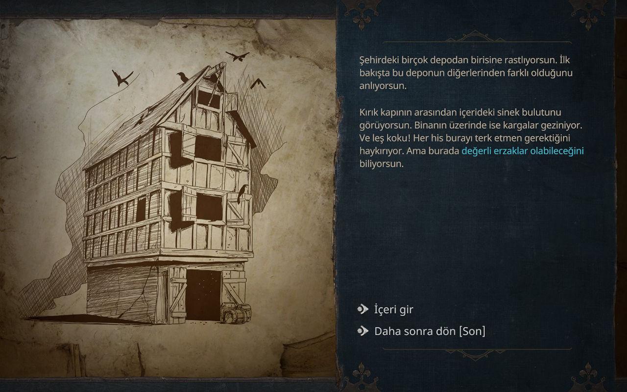 Siege Survival: Gloria Victis seçim ekranı