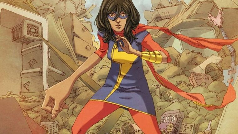 Ms. Marvel dizisinden yeni fotoğraflar geldi