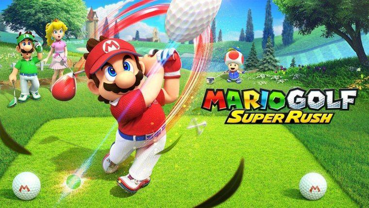 Mario Golf: Super Rush videosu yayınlandı