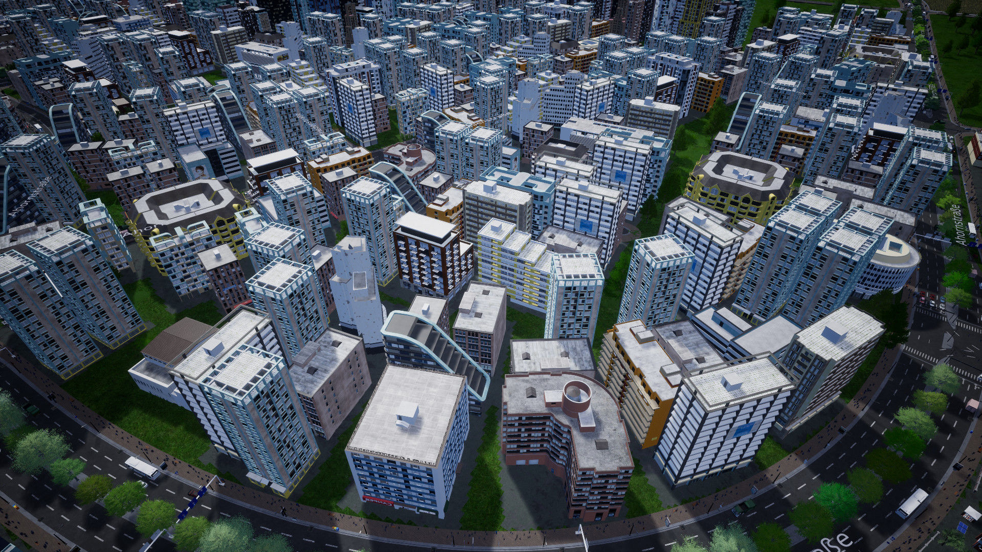 City building game Highrise City announced for PC