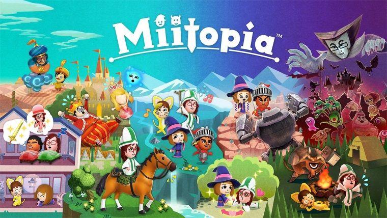 Miitopia, Nintendo Switch için çıktı