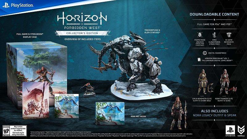 Horizon Forbidden West, PlayStation'da ön siparişe açıldı