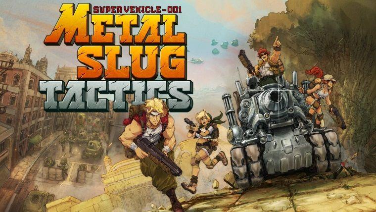 Metal Slug Tactics PC için duyuruldu