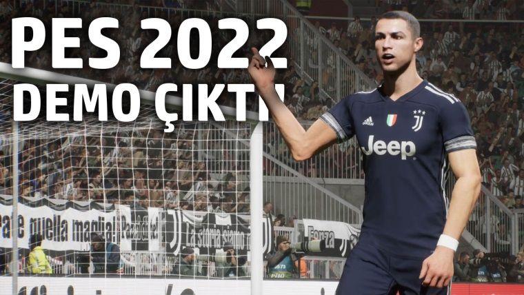 PES 2022 Demosunu Oynadık