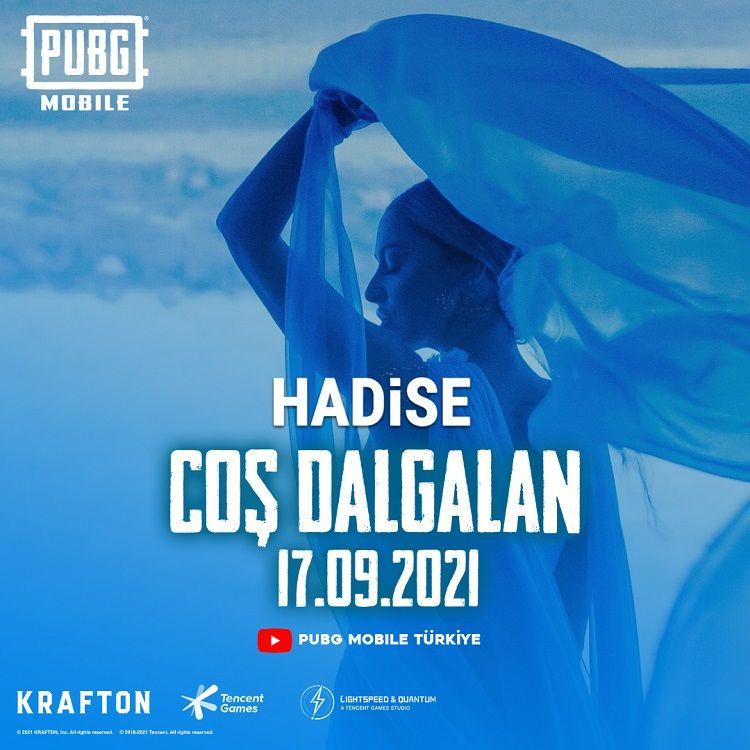 PUBG Mobile için Hadise işbirliğiyle hazırlanan müzik klibi yayınlandı