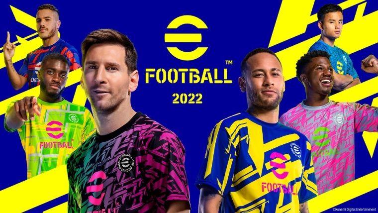 eFootball 2022 ücretsiz olarak çıktı