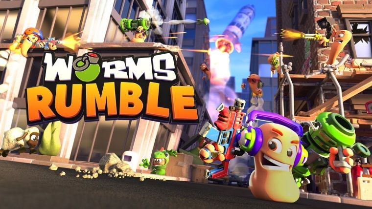 Worms Rumble PS4, PS5 ve PC için duyuruldu