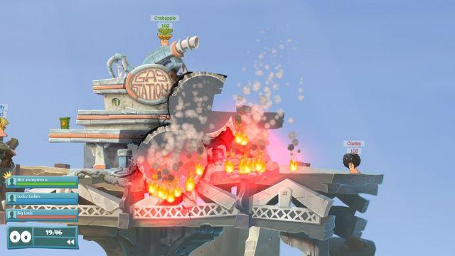 Worms WMD'de Xbox One'a geliyor!