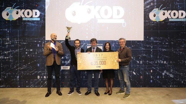 KOD Ödülleri yapılan özel bir tören ile sahiplerini buldu