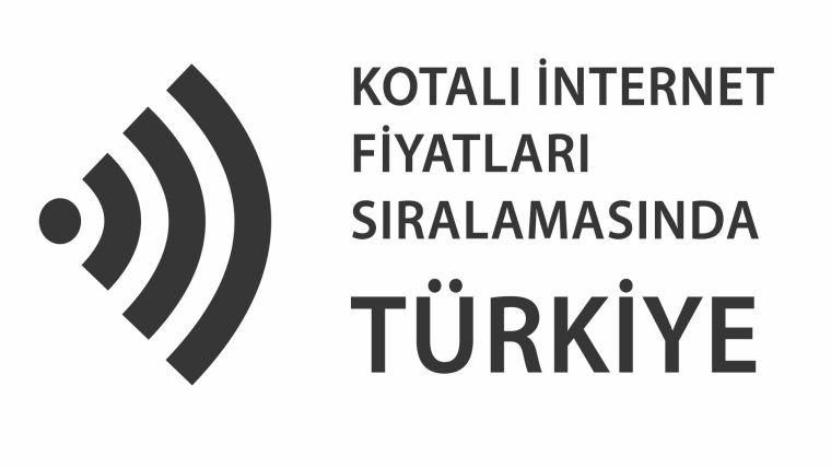 En ucuz internet sıralamasında Türkiye 44.