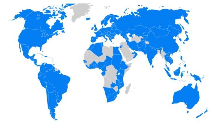 Bir kuruluş daha dünya haritasından Türkiye'yi kaldırdı