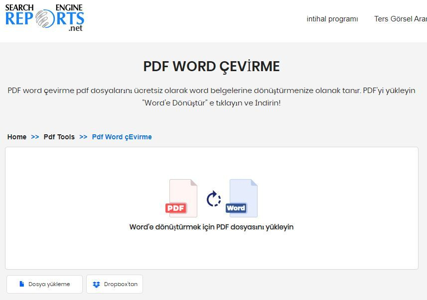 How to change PDF file to Word Online?