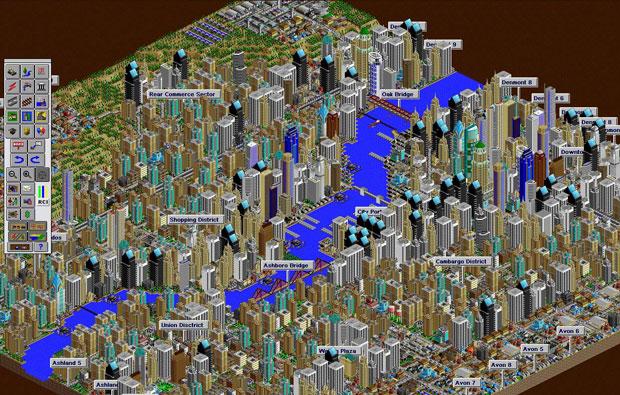 SimCity 2000 özel sürümü Origin'de bedava!