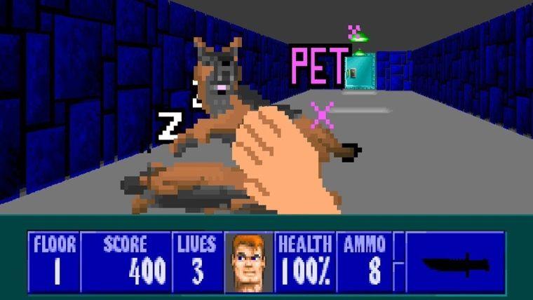 Şiddeti en aza indirmeyi başaran Wolfenstein 3D modu yayınlandı