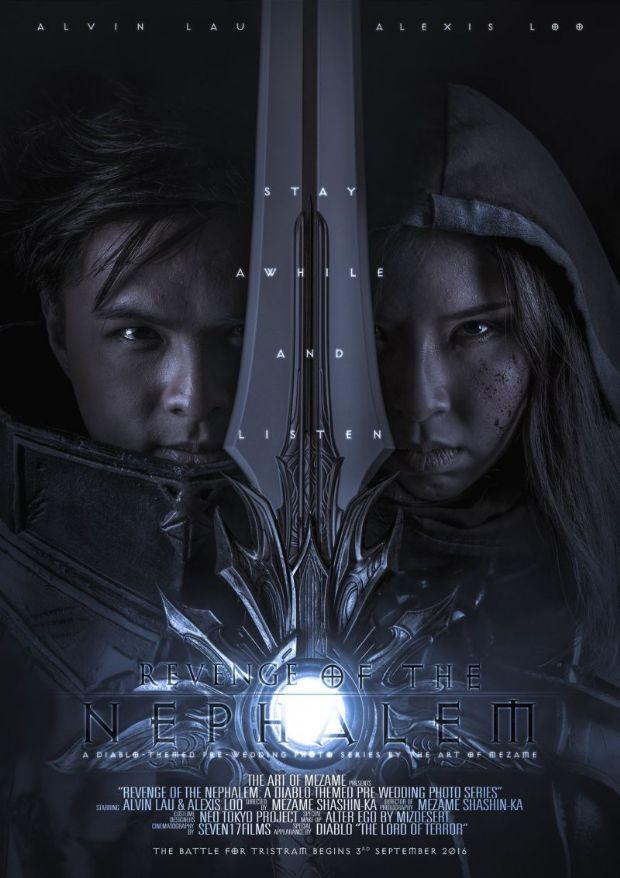 Diablo 3 oynarken tanıştılar, evlendiler!