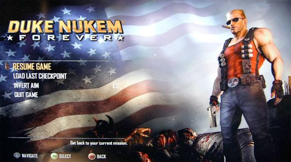 Duke Nukem Forever demosu için anahtar