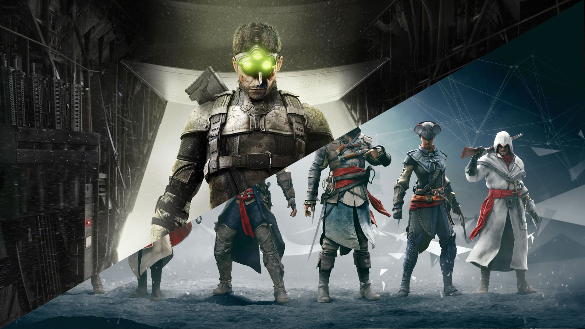 Yeni Splinter Cell ve Assassin's Creed oyunları duyuruldu
