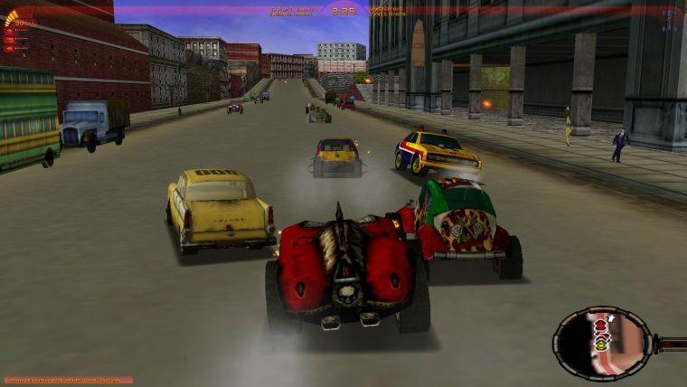 Carmageddon TDR 2000 kısa bir süreliğine ücretsiz oldu