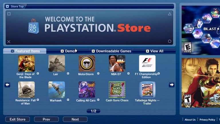 PlayStation 3 games are history