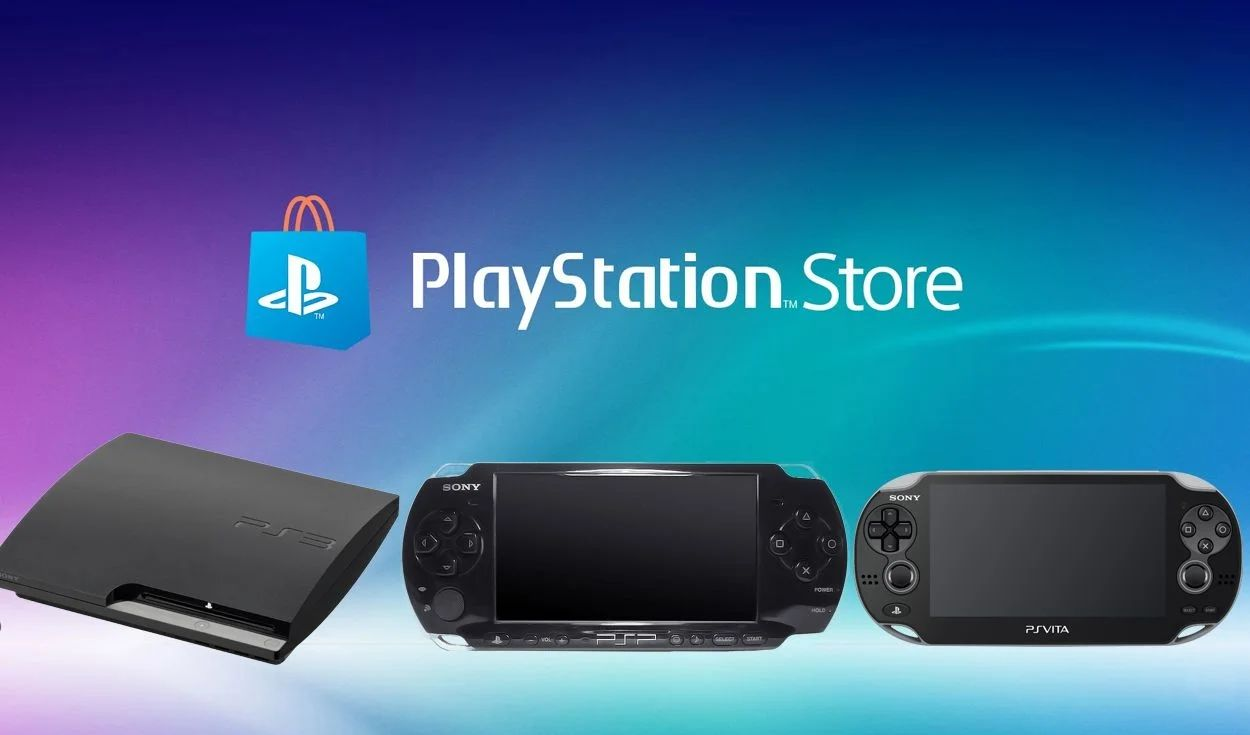 Sony gives up closing PS3 and Vita stores