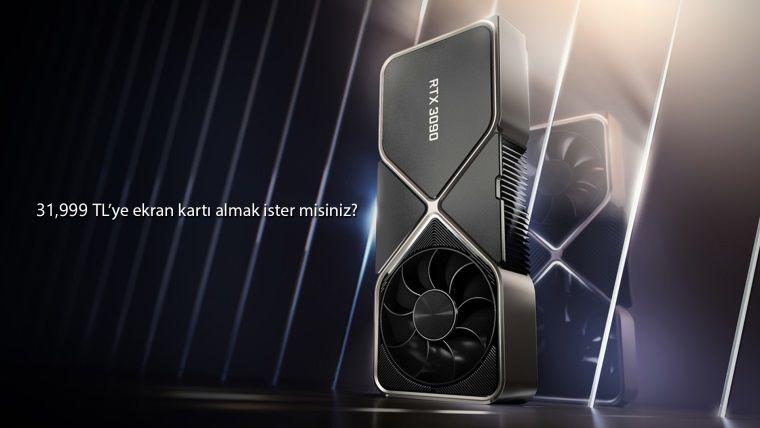 RTX 3090 fiyatları dudak uçuklatıyor