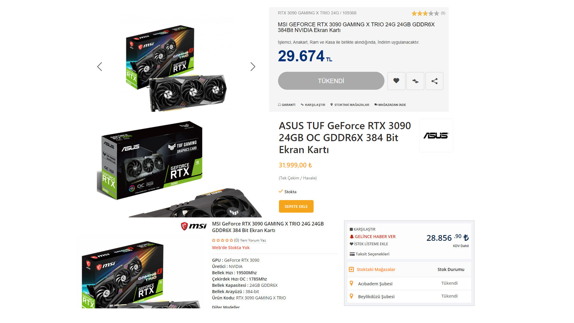 RTX 3090 prices are astonishing