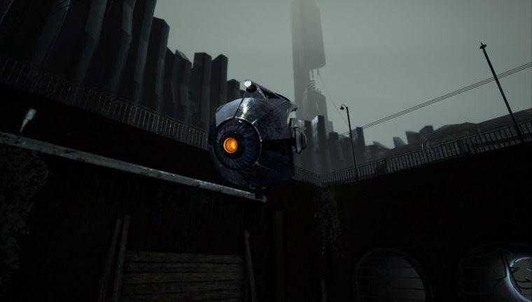 Half Life 2, Unreal Engine 4 ile yapılsa nasıl gözükürdü?