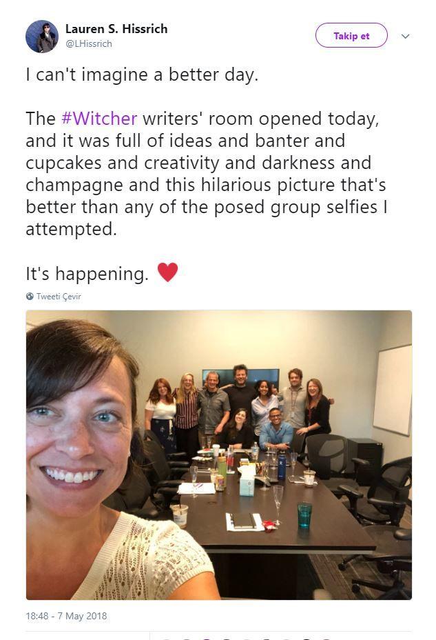 The Witcher dizisinin yazar kadrosuna yeni isimler katıldı