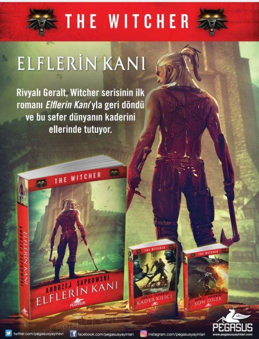 The Witcher: Elflerin Kanı kitabı ön siparişe açıldı