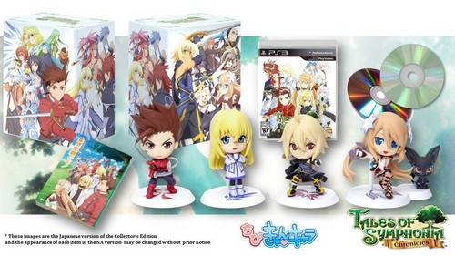 Tales of Symphonia Collector's Edition'da coştu!