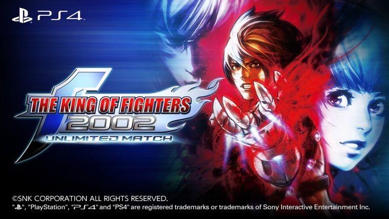 The King of Fighters 2002 Unlimited Match, PS4 için çıktı