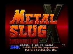 Metal Slug X ve Front Mission 3 PSN yolcusu
