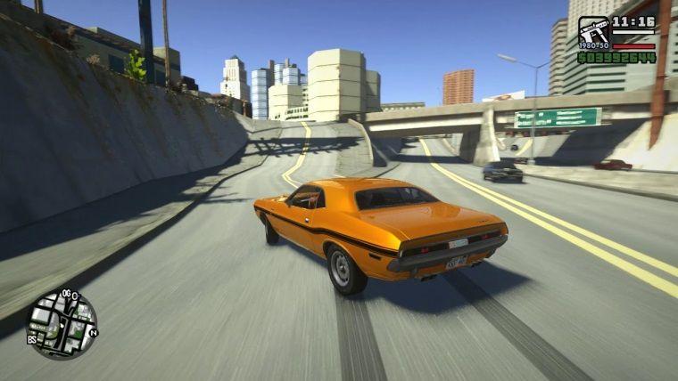 GTA: San Andreas modu kaplamaları 8 kat arttırıyor